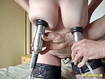 Bizarre Milking Machine